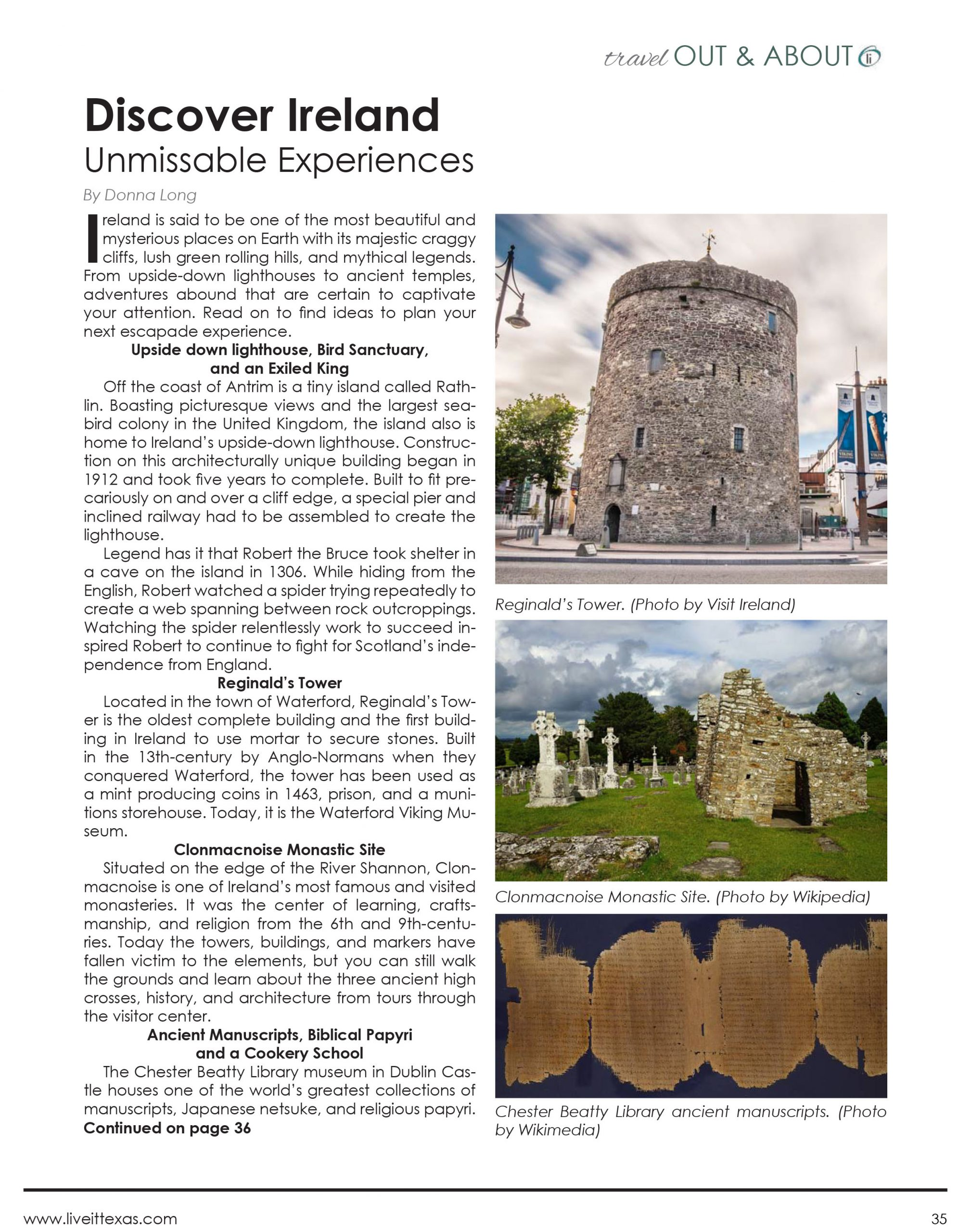 Discover Ireland: Unmissable Experiences – LiveIt Texas