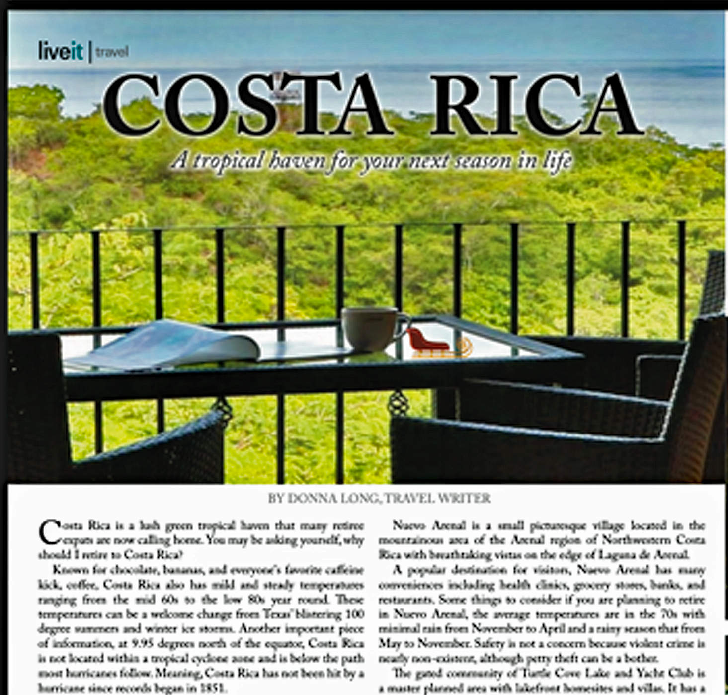 Costa Rica: A Tropical Haven for Your Next Season in Life – LiveIt Texas