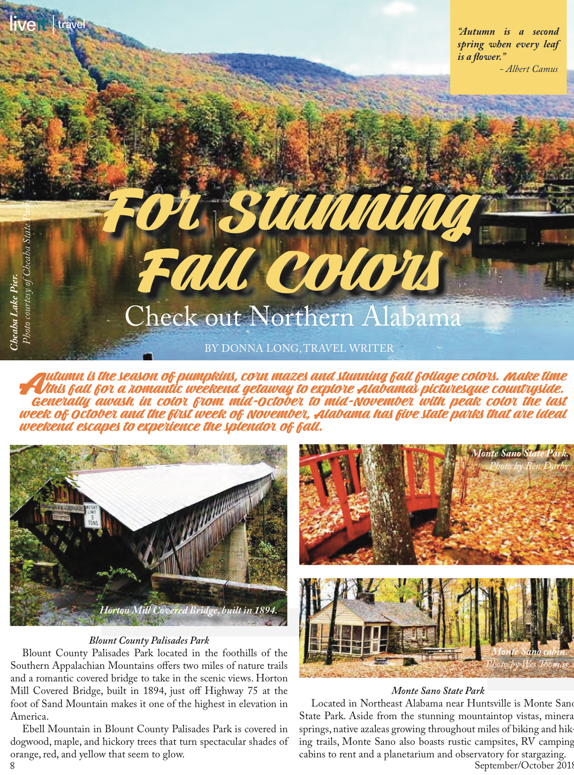 For Stunning Fall Colors, Checkout Northern Alabama – LiveIt Texas
